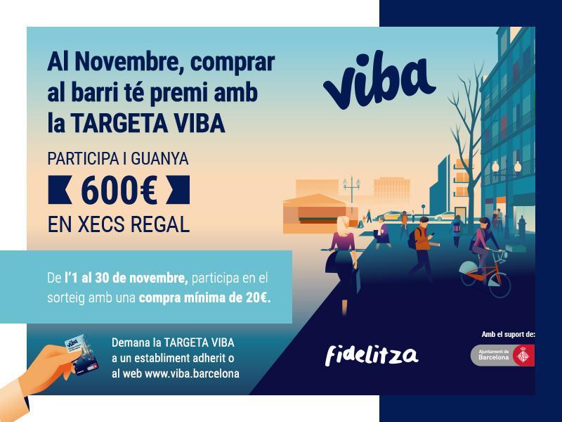Vols 600 euros per gastar-te a les botigues del barri?
